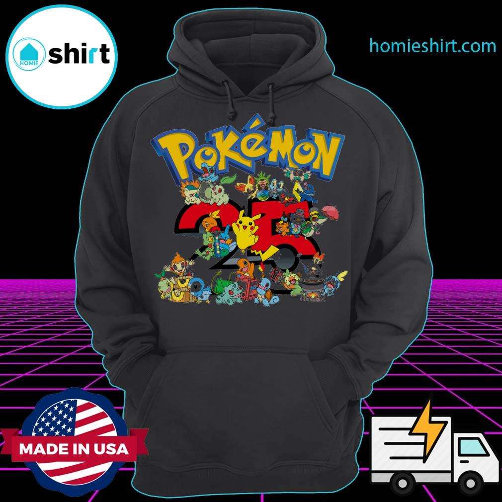 25 years of Pokémon s Hoodie