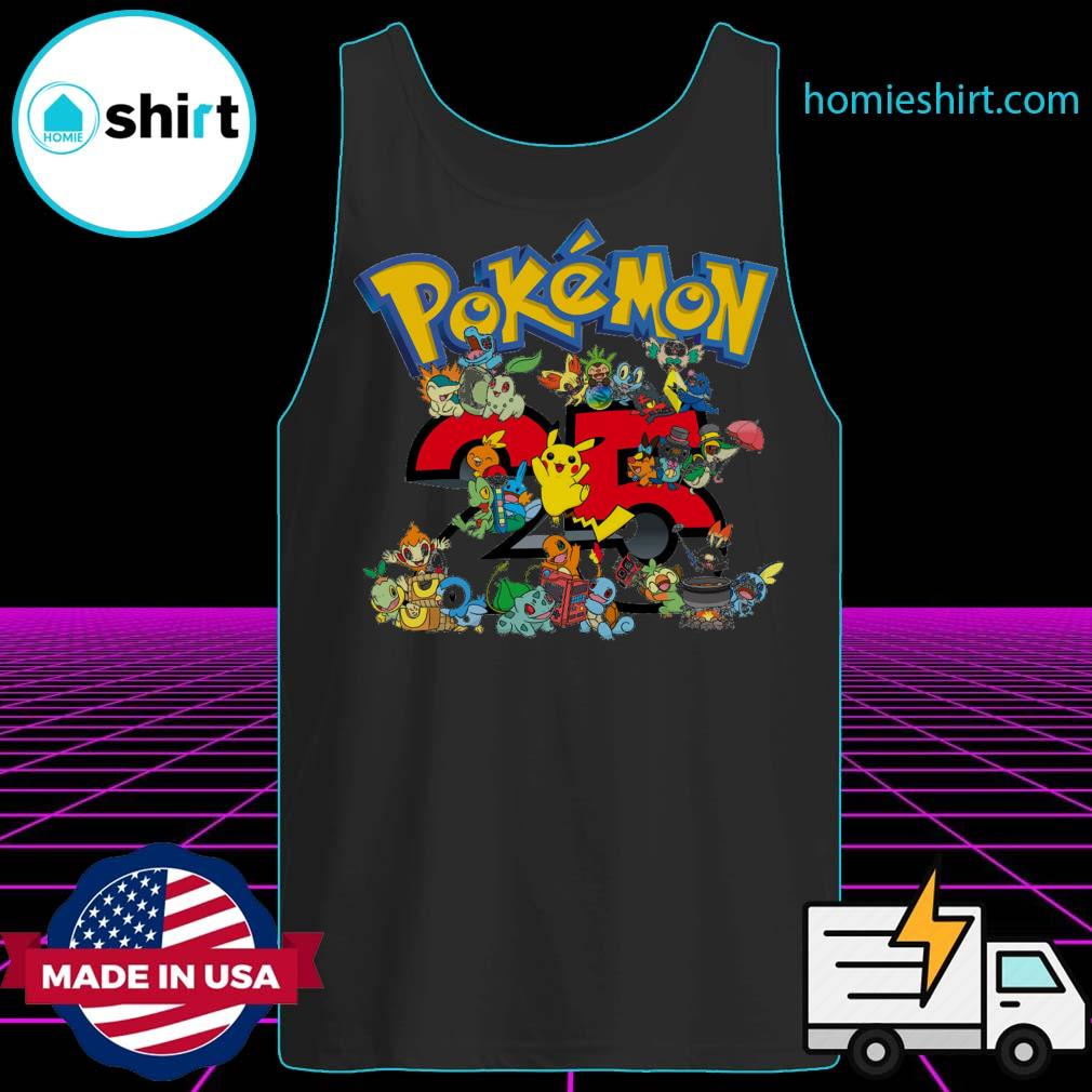25 years of Pokémon s Tank-Top