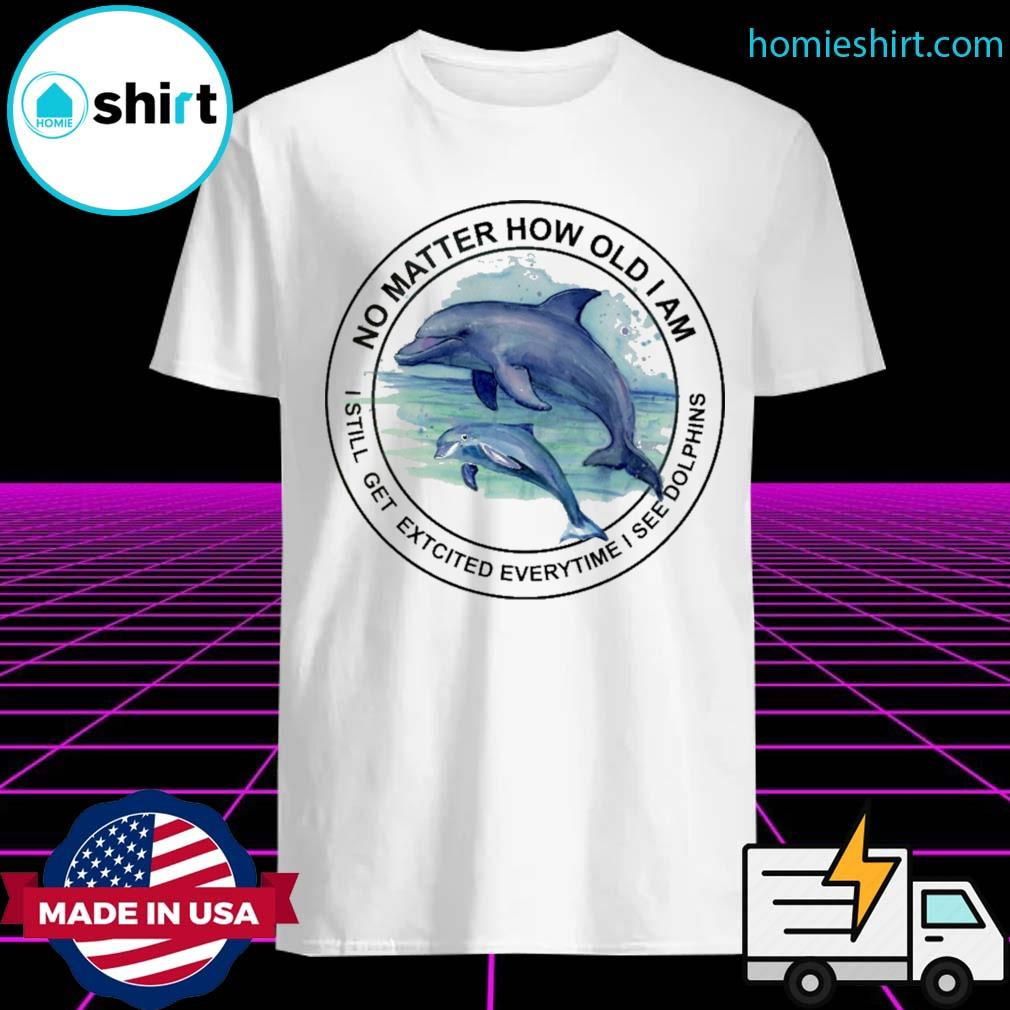 No matter how old I am I still get excited everytime I see Dolphins shirt
