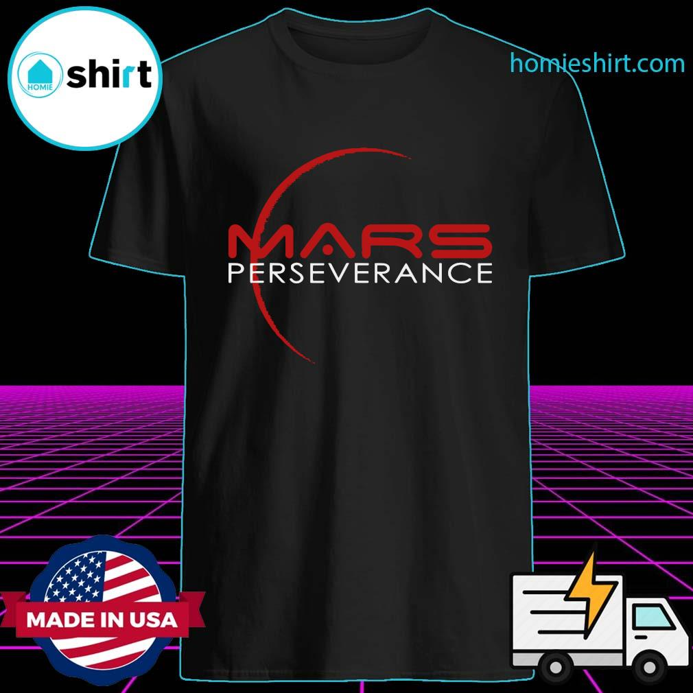 Official Nasa The Mars Perseverence Unisex Tee Shirt