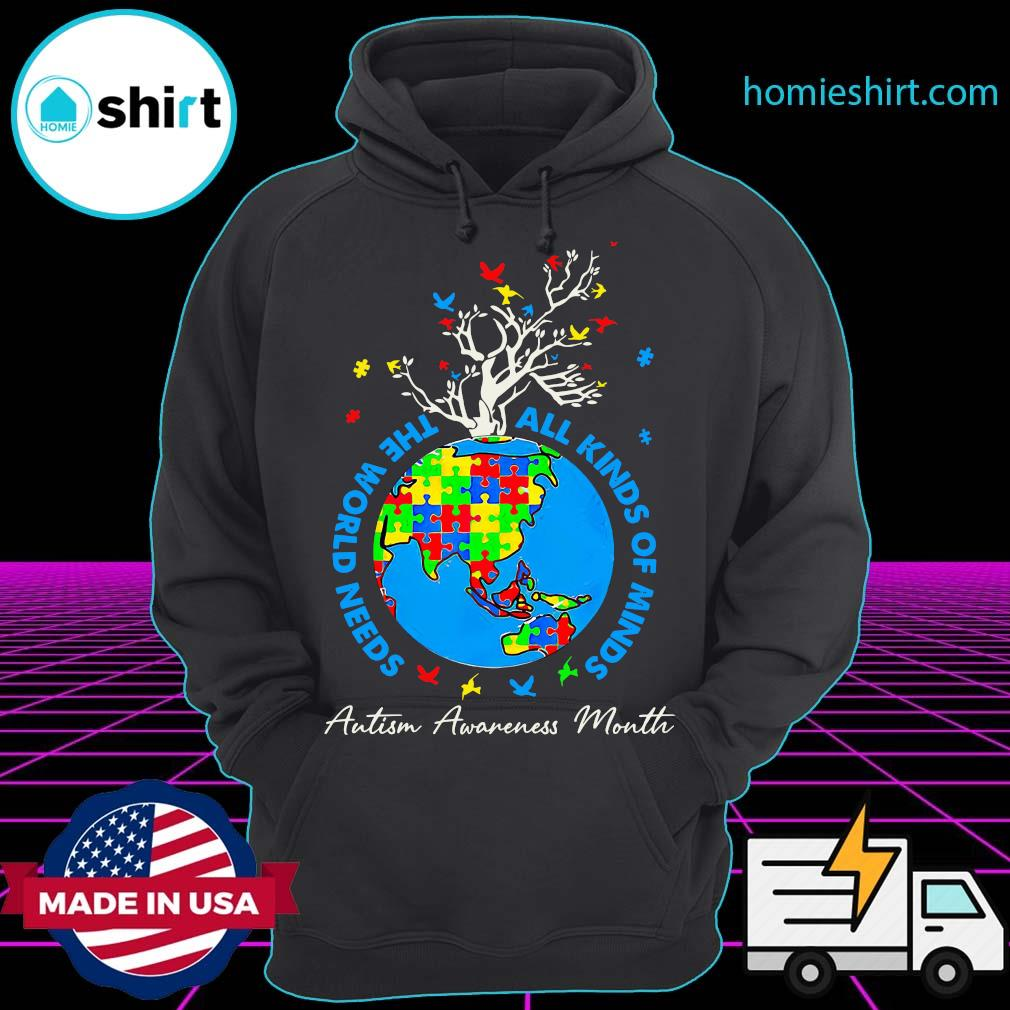 Autism Tree Grow You Awareness 3D All Over Sublimation Printed