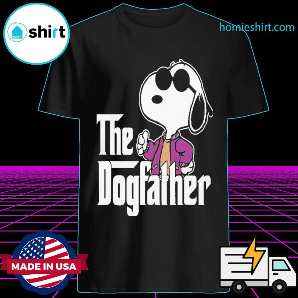Snoopy The Dogfather shirt