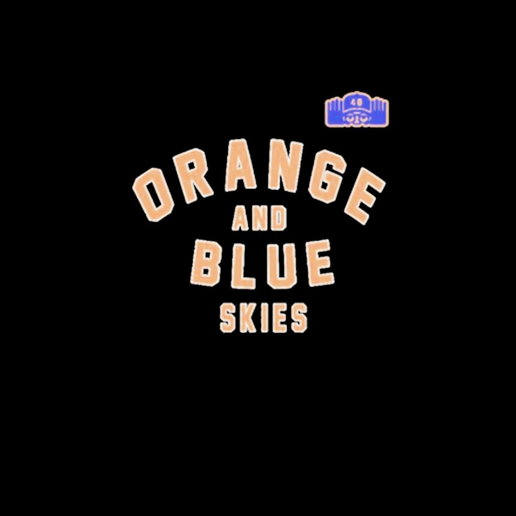 Orange and blue skies s invisible
