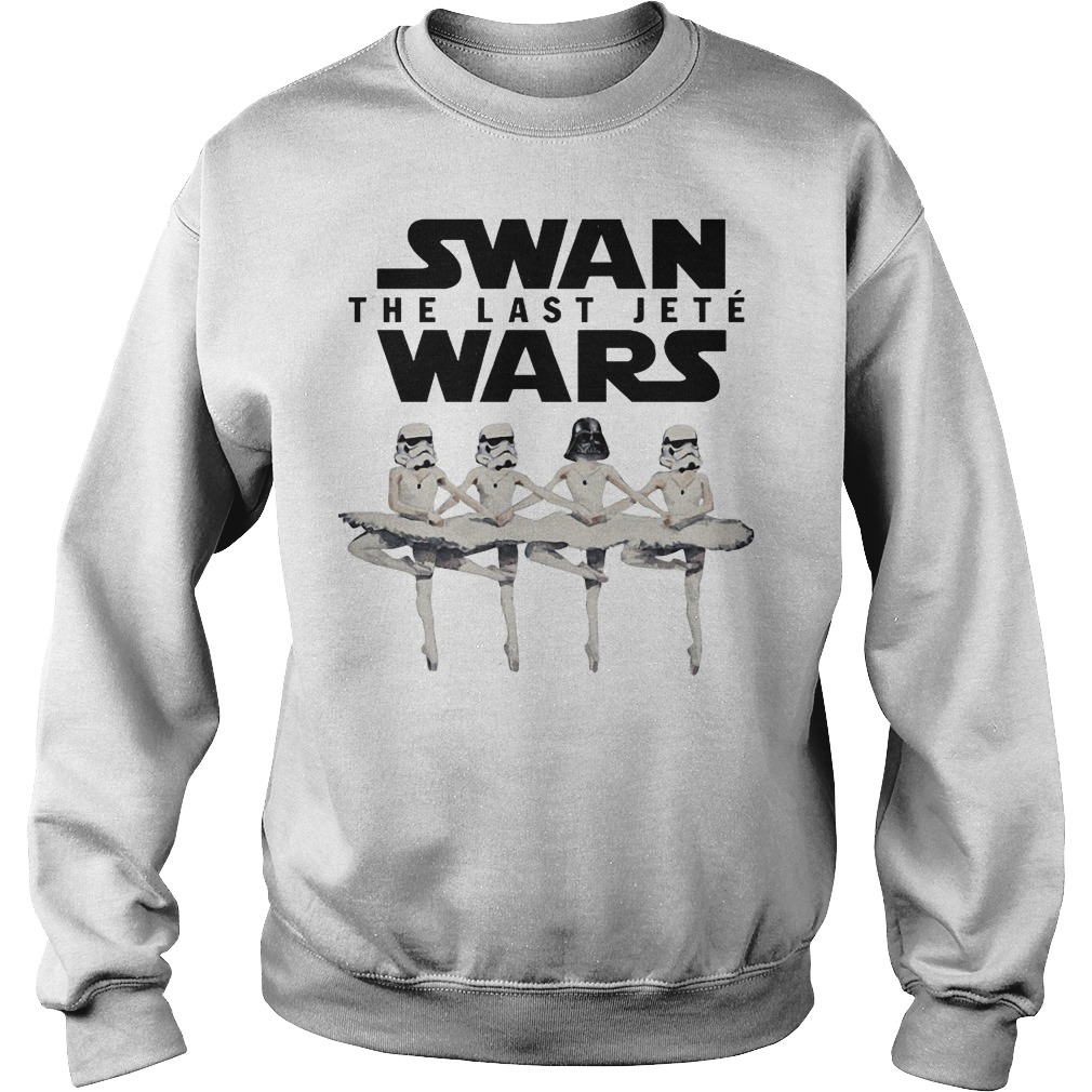 Ballet Dance Swan The Last Jete Wars sweater