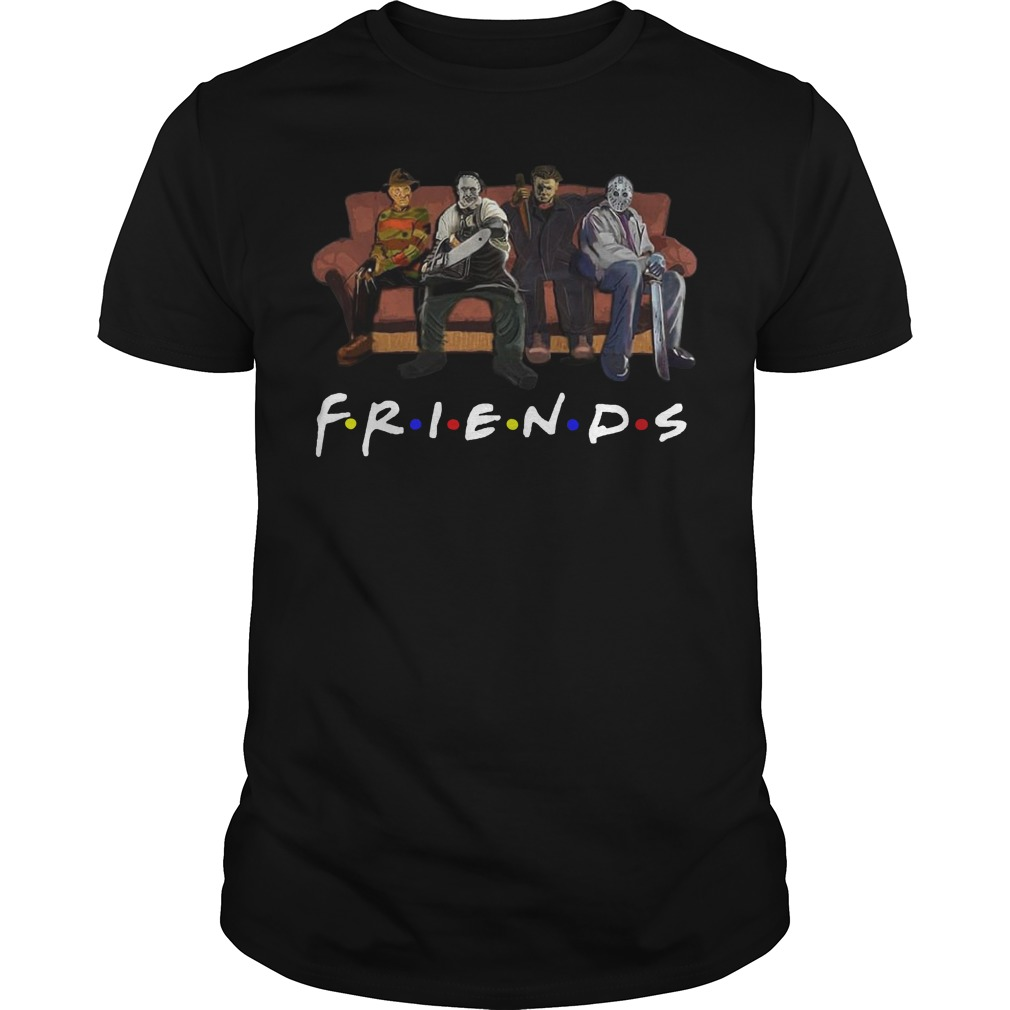 Horror movie Friends classic guy
