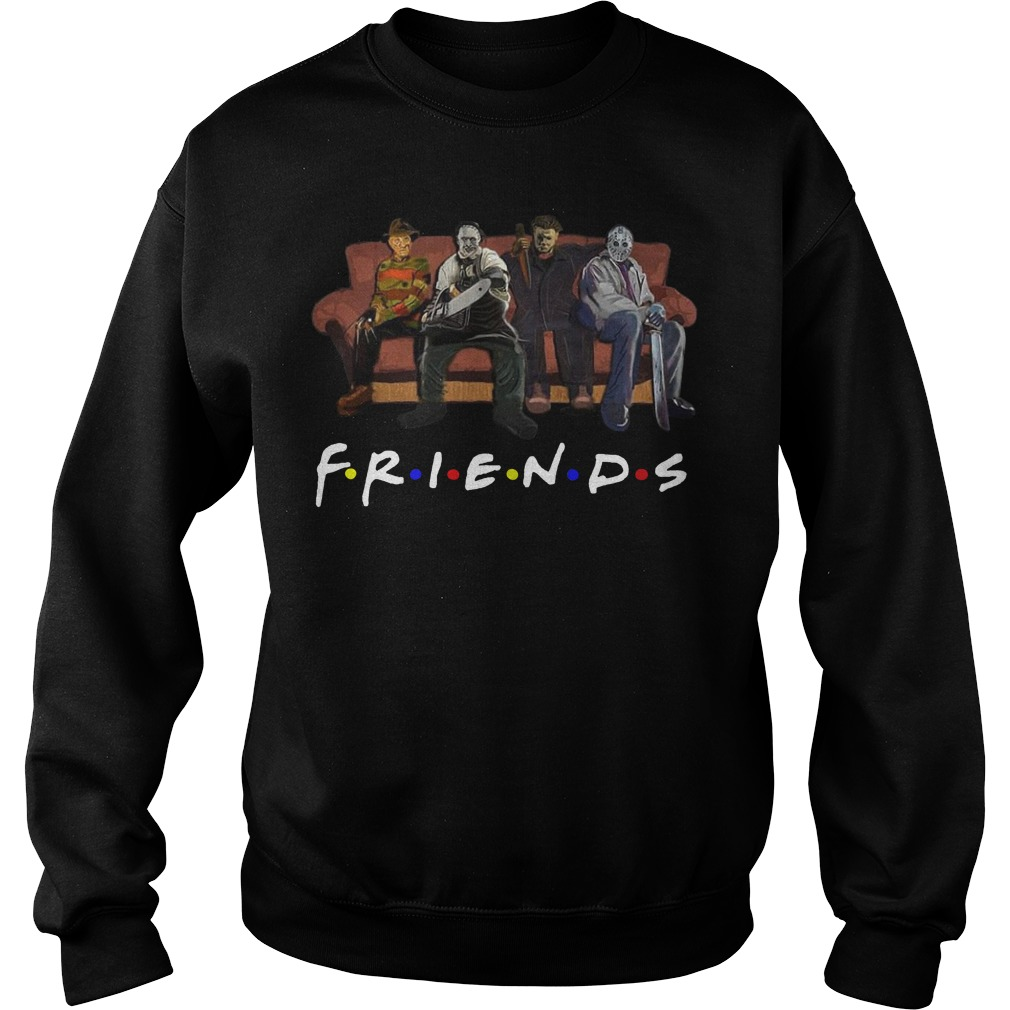 Horror movie Friends sweater