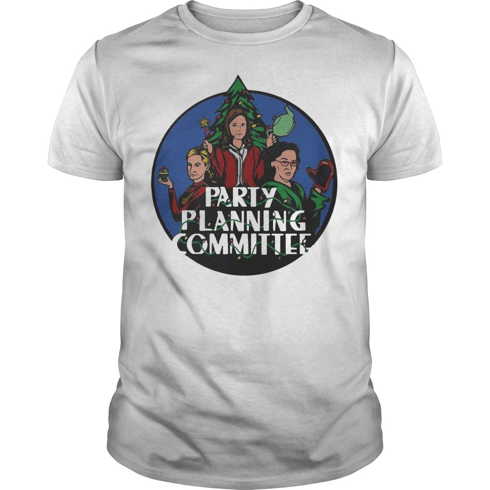 Party planning committee Christmas classic guy