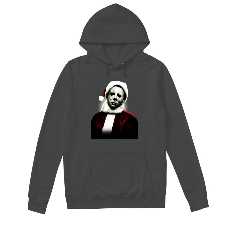 Christmas Santa Michael Myers Hat Shirt Hoodie Sweater And Long Sleeve