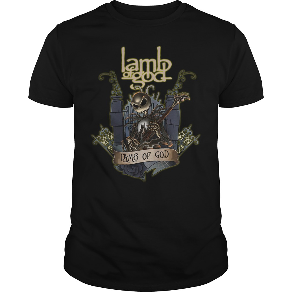Jack Skellington Lamb of God classic guy