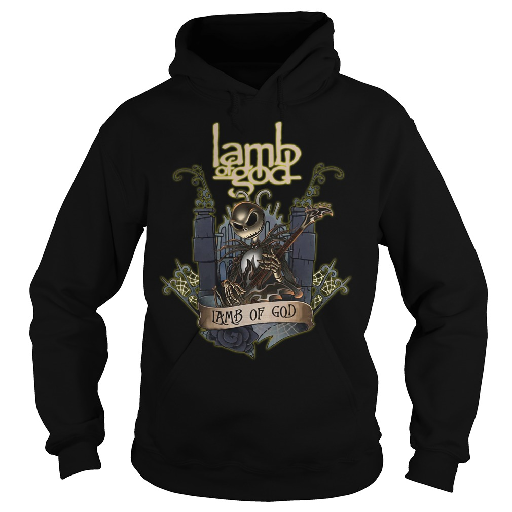 Jack Skellington Lamb of God hoodie