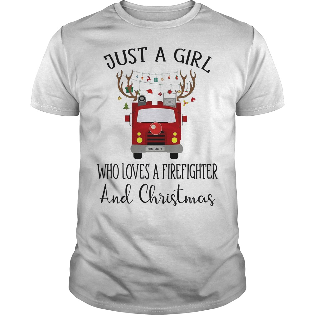 Just a girl who loves a Firefighter and Christmas classic guy