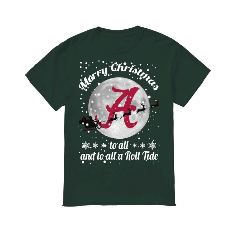 Merry Christmas to all and to all a Roll Tide Alabama Crimson Tide classic men