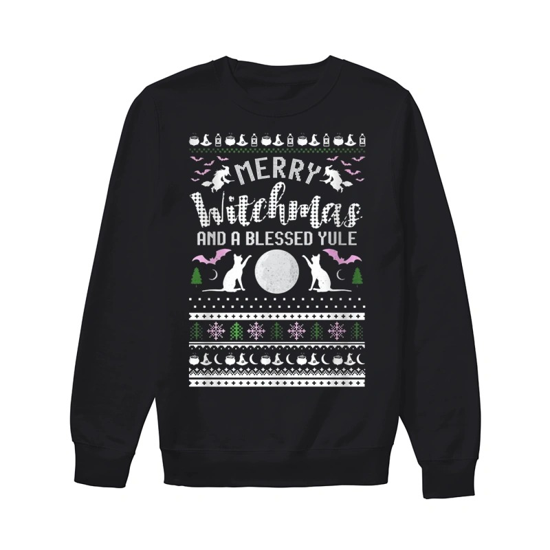 Merry Witchmas and a blessed yule ugly Christmas sweater