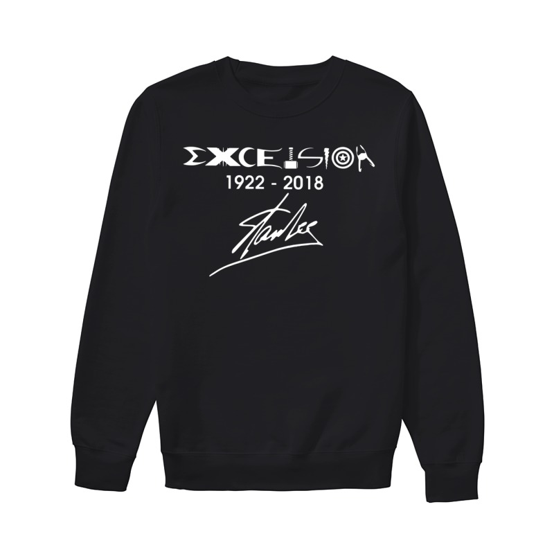Stan Lee excelsior 1922-2018 sweater