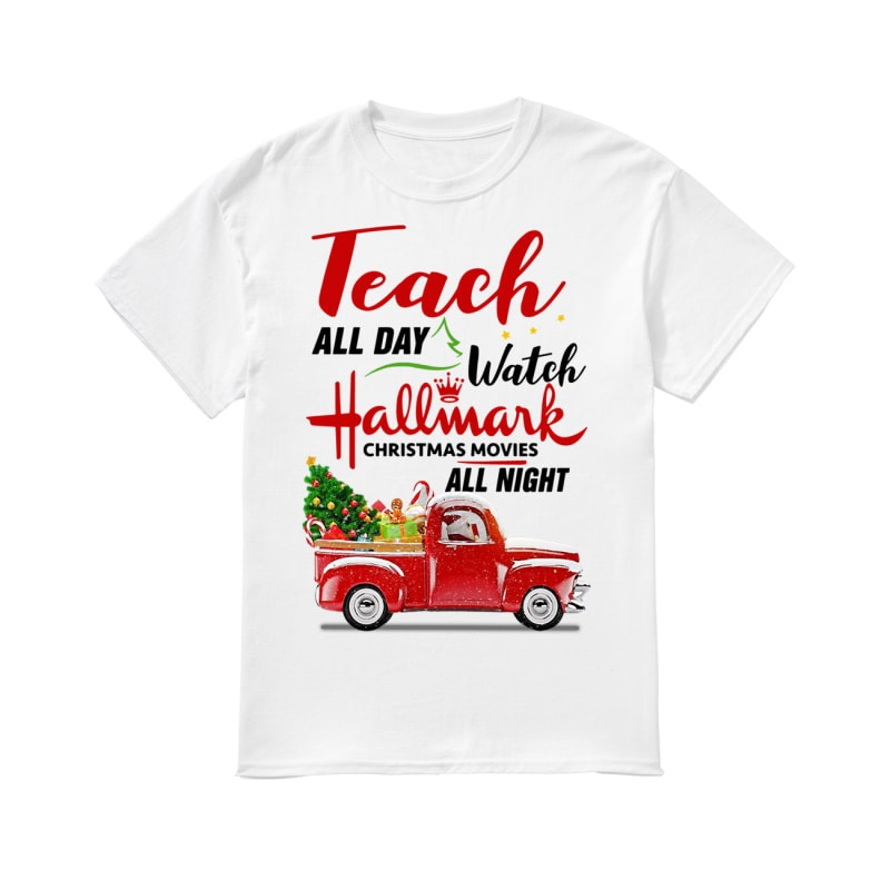 Teach all day watch Hallmark Christmas movies all night classic men
