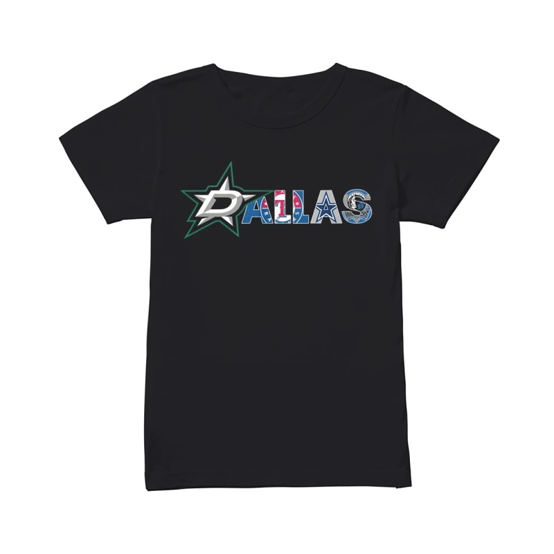 Sport team in Dallas ladies tee