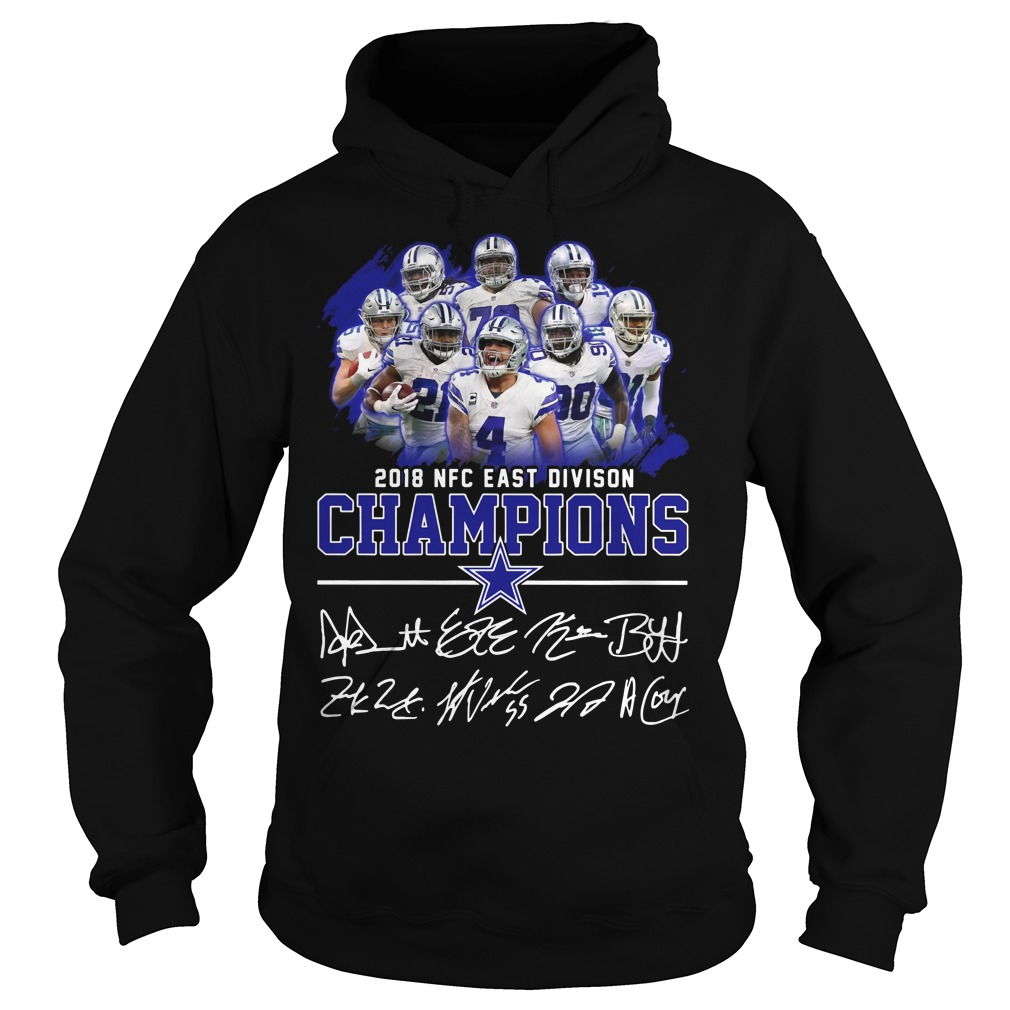 2018 NFC east division champions Dallas Cowboy hoodie