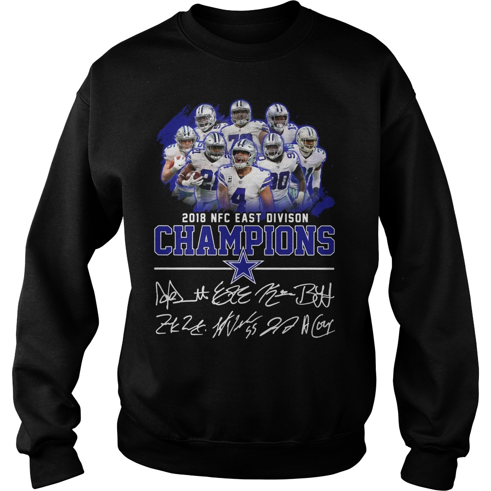 2018 NFC east division champions Dallas Cowboy sweater