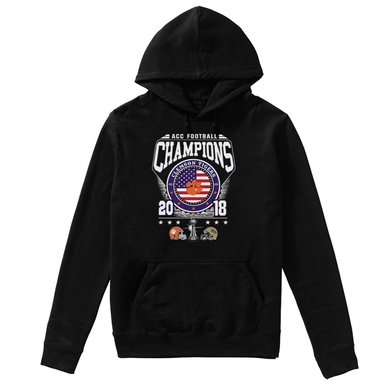 ACC Football Champions Clemson Tigers 2018 hoodie