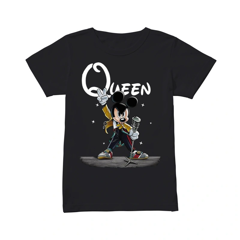 Freddie Mercury Queen Mickey mouse classic women