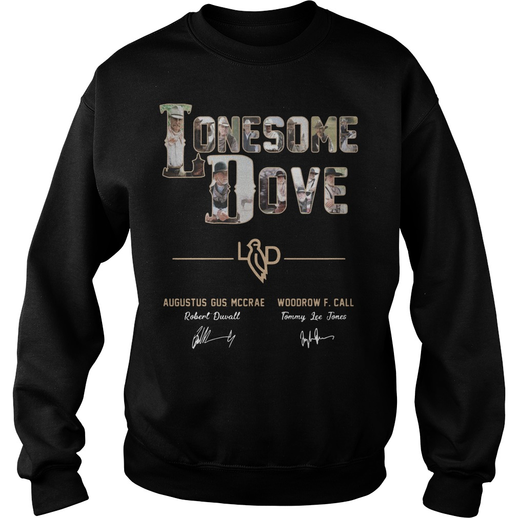 Lonesome Dove Augustus Gus Mccrae Robert Duvall Woodrow Call Tommy Lee Jones Shirt sweater