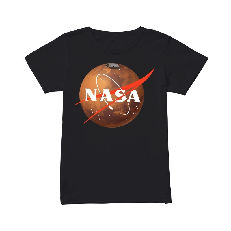 Occupy Mars Nasa ladies tee