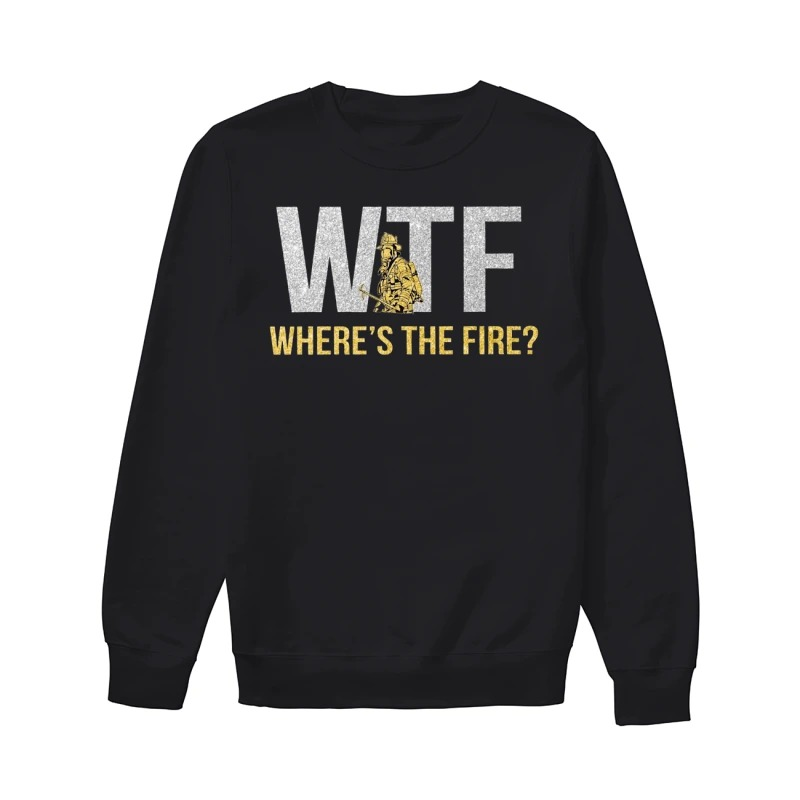 WTF where's the fire sweater