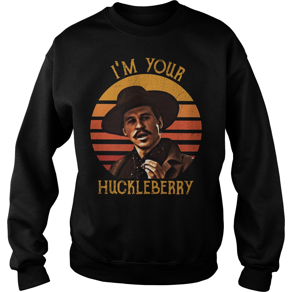 I'm your Huckleberry sweater