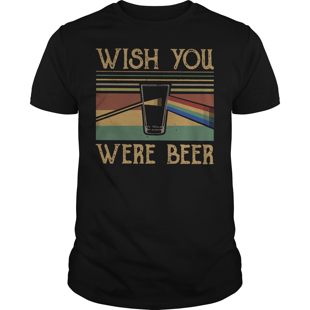 Wish you were beer sunset classic men