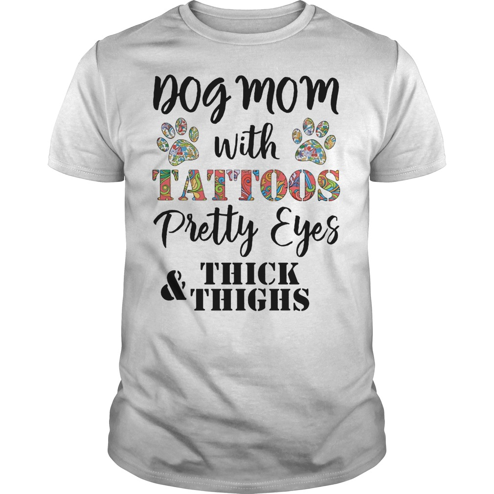Dog mom with tattoo pretty eyes thick and thighs classic men