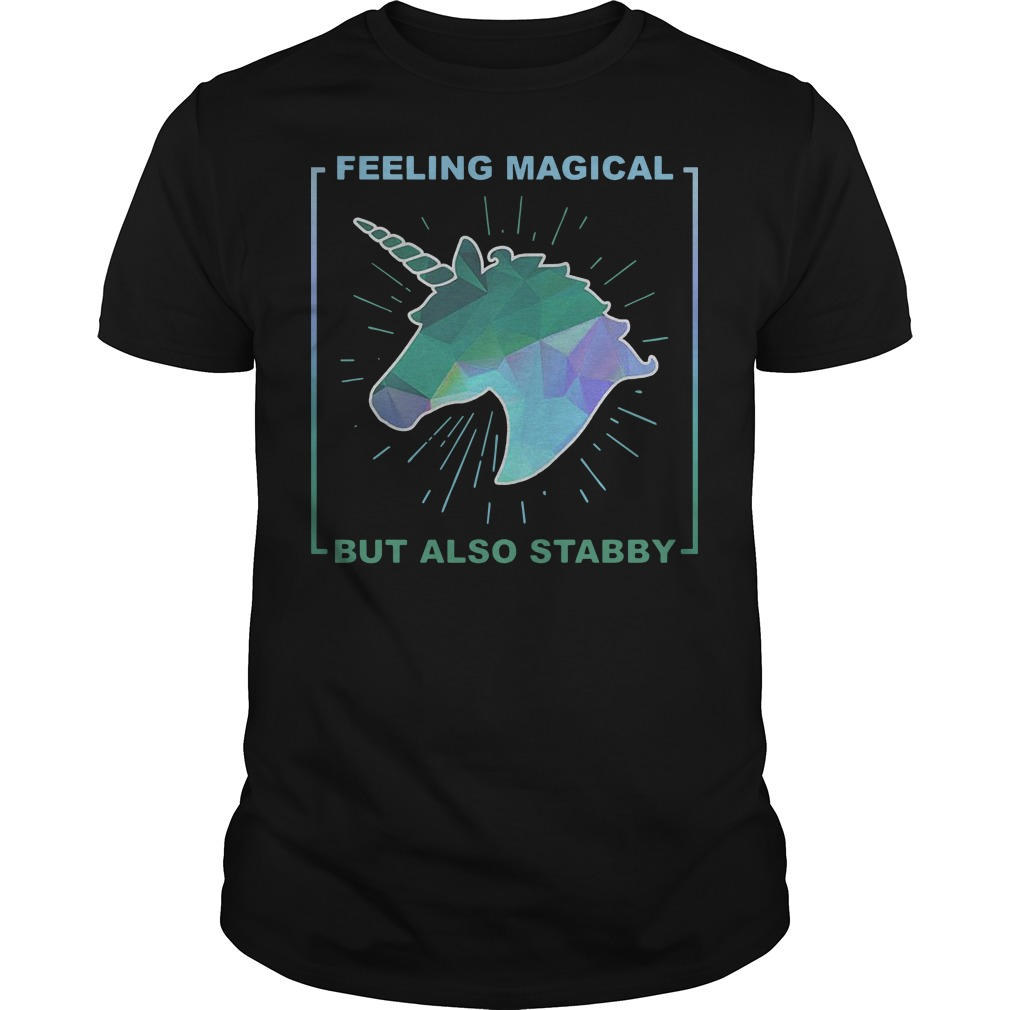 Feeling magical but also stabby Unicorn classic men