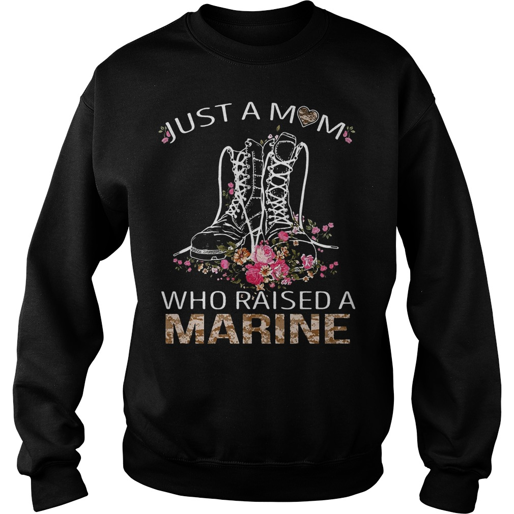 Just a mom who raised a Marine sweater
