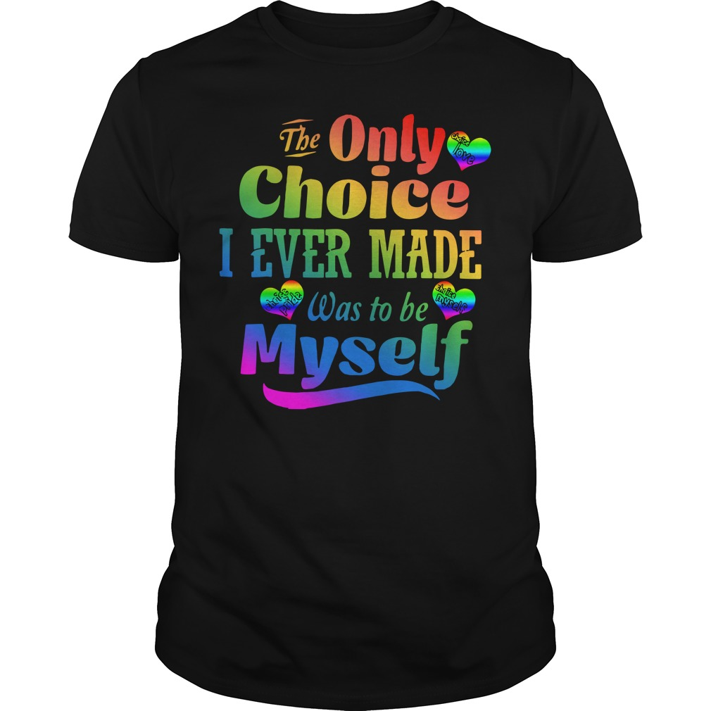 LGBT The only choice I ever made was to be myself classic men