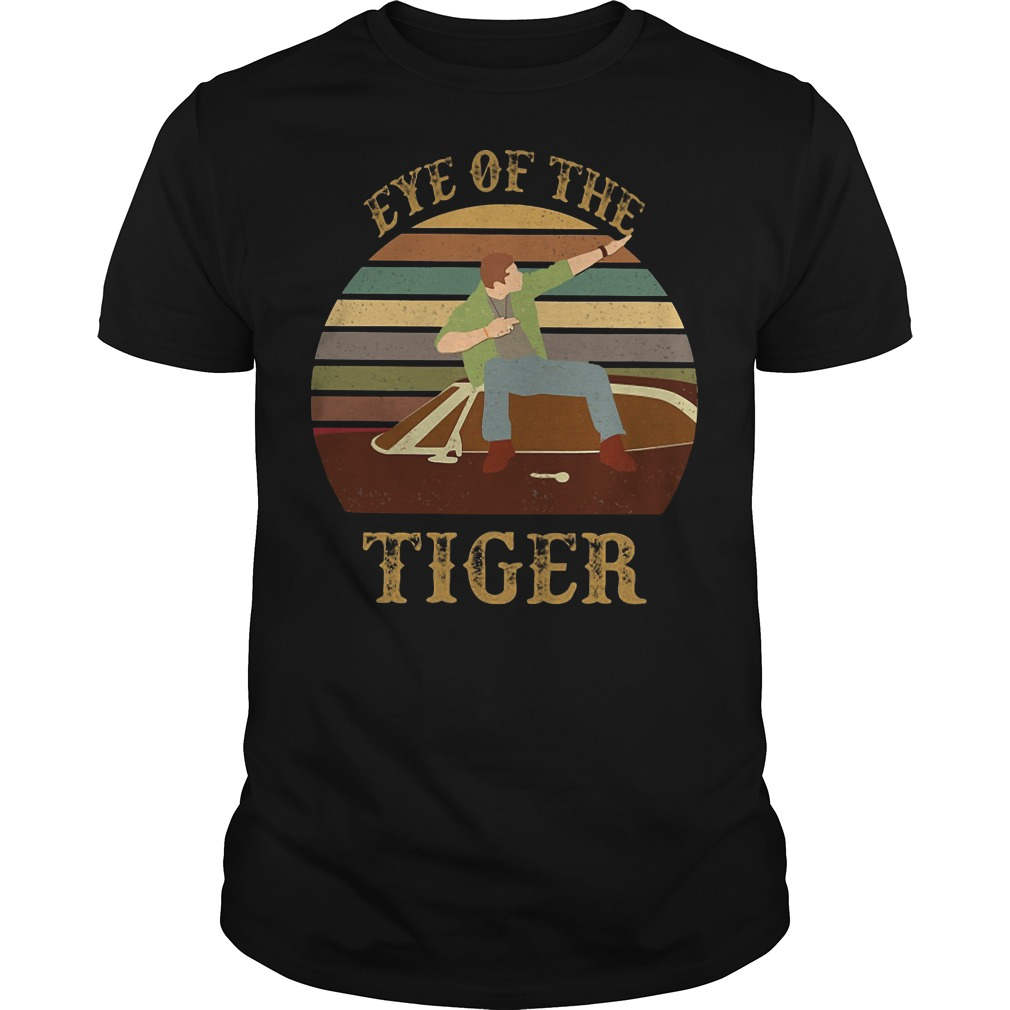 Supernatural Dean Eye of the Tiger classic-men
