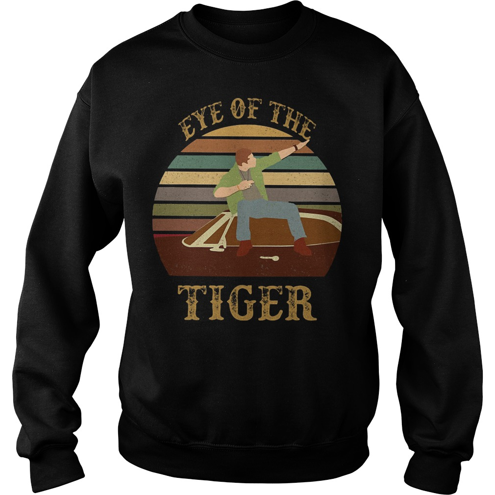 Supernatural Dean Eye of the Tiger sweater