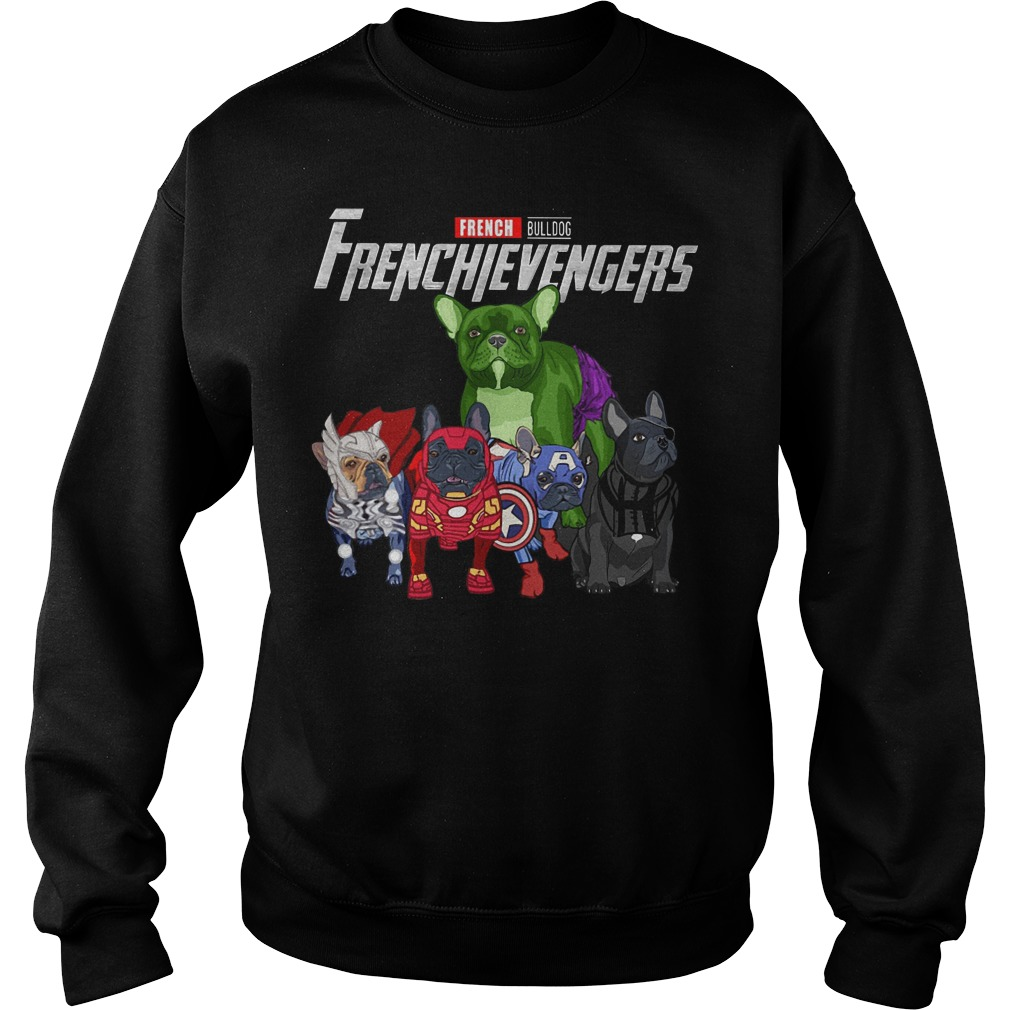 French Bulldog Frenchievengers sweater