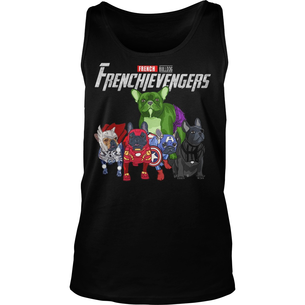 French Bulldog Frenchievengers tank top