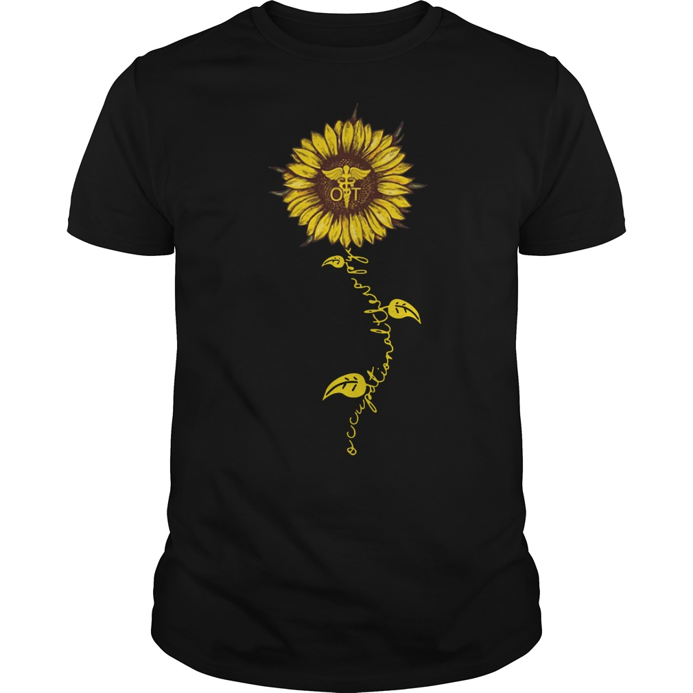 Occupational therapy nurse sunflower classic men