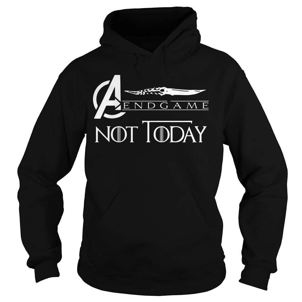 Avengers endgame not today hoodie