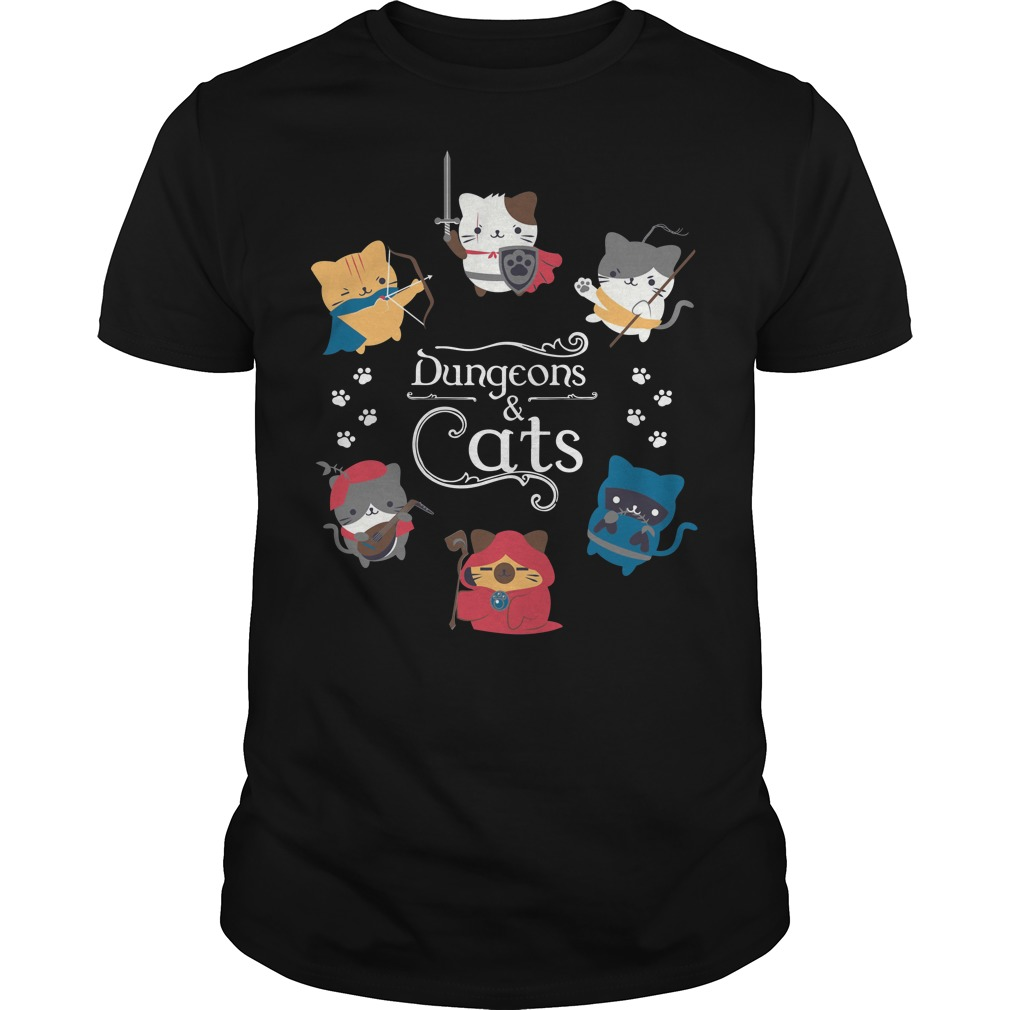 Dungeons and cats classic men