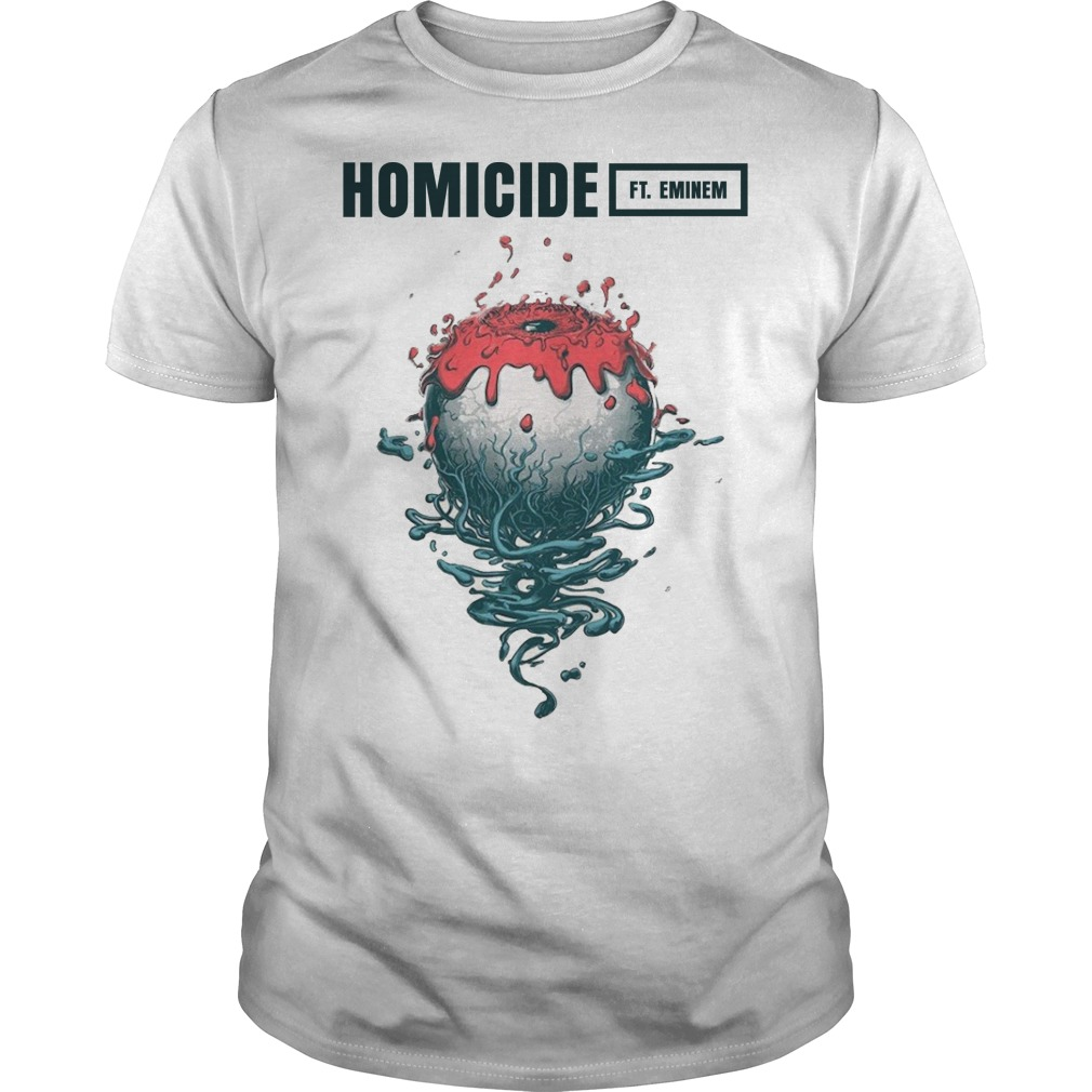 Homicide logic ft Eminem Logo classic men