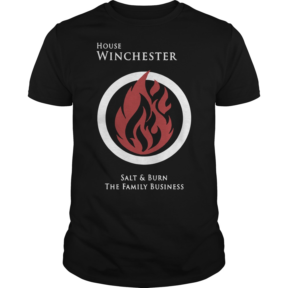 House Winchester salt and burn the family business classic men