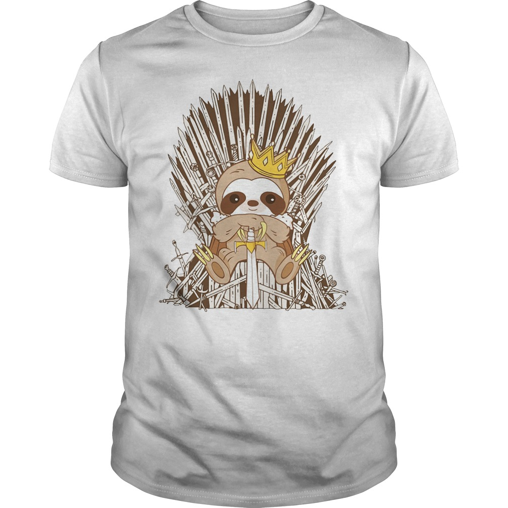 Sloth King Game Of Thrones classic men