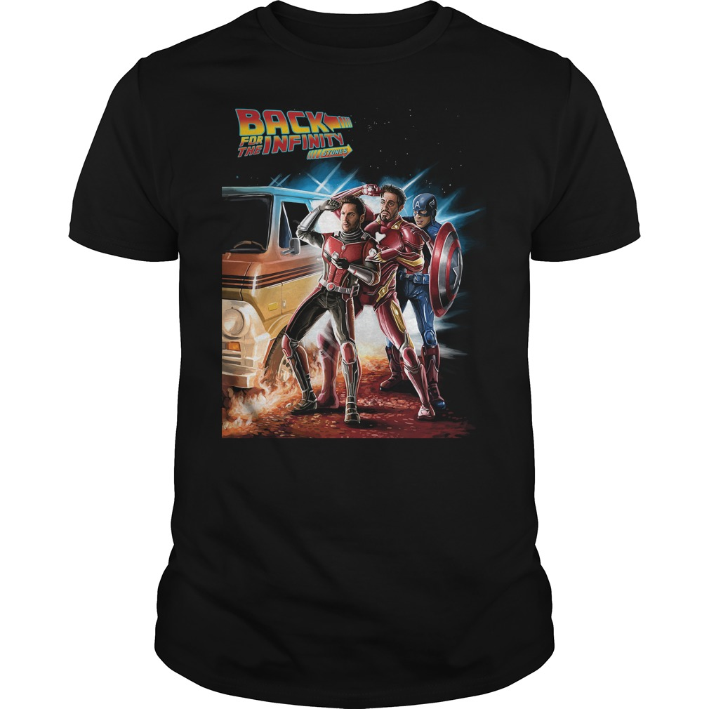 Avengers back for the infinity stones Ant Man Iron Man and Captain America classic men