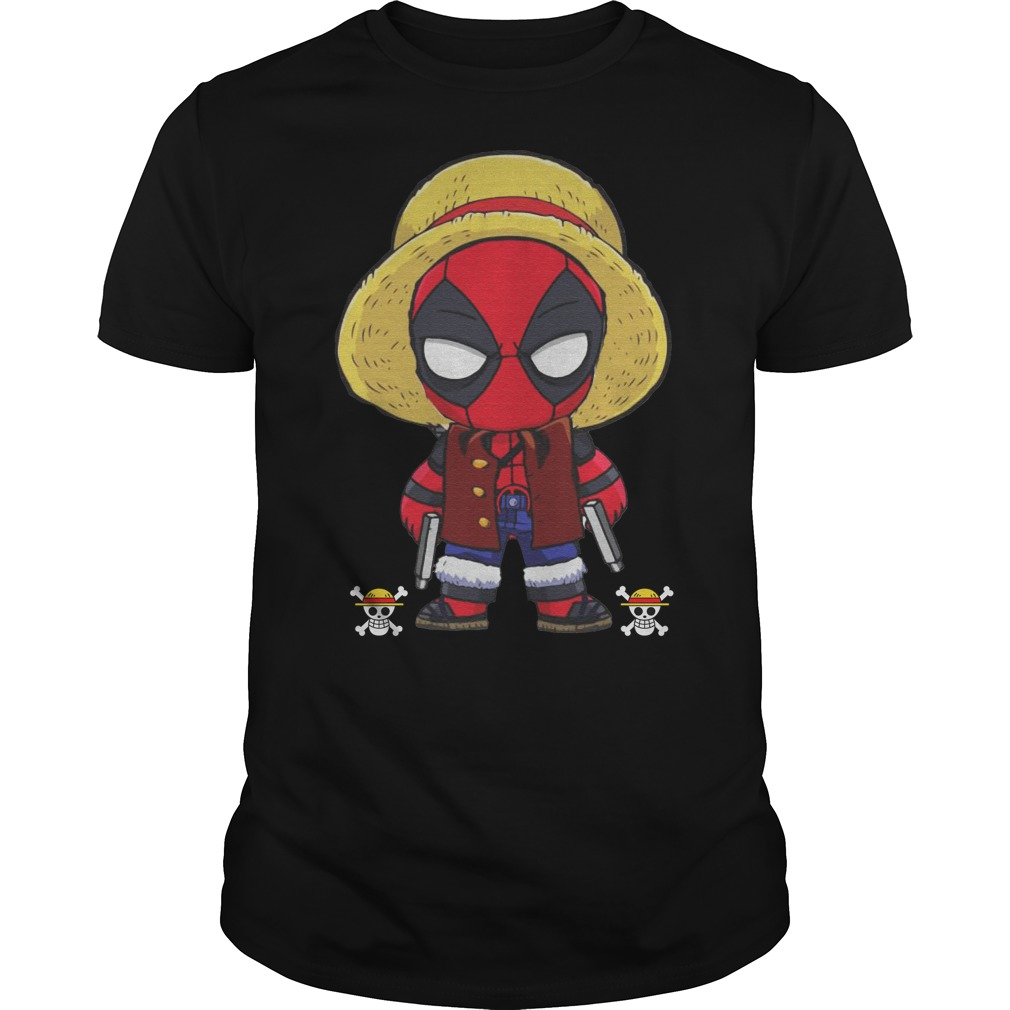 Deadpool Luffy funny One piece classic men
