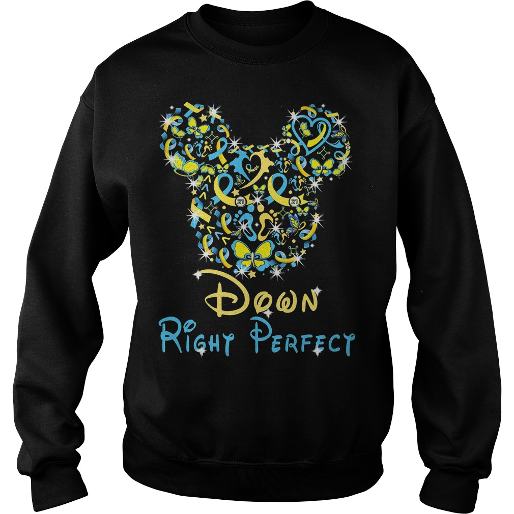 Disney Mickey Mouse down right perfect sweater