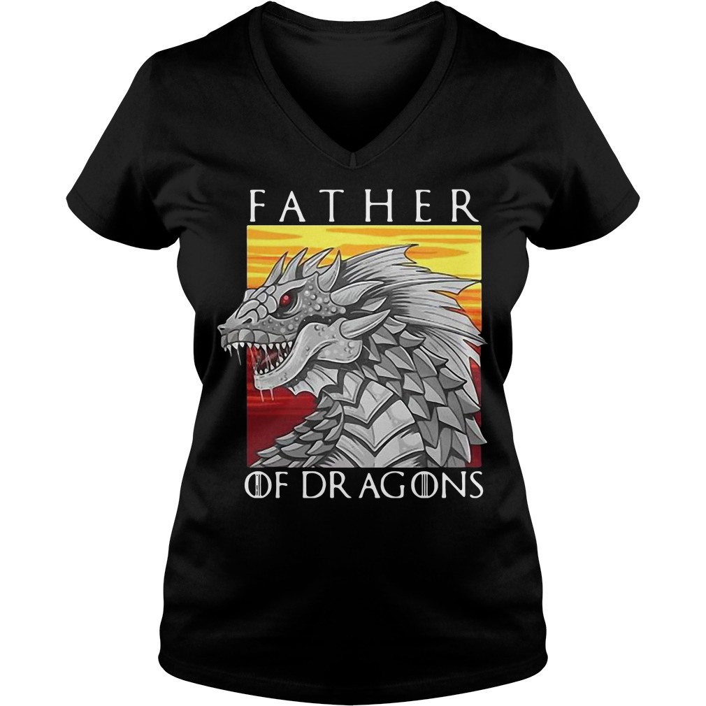 Got father of dragons V-neck