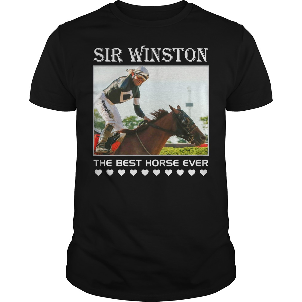 Sir Winston The Best Horse Ever classic men