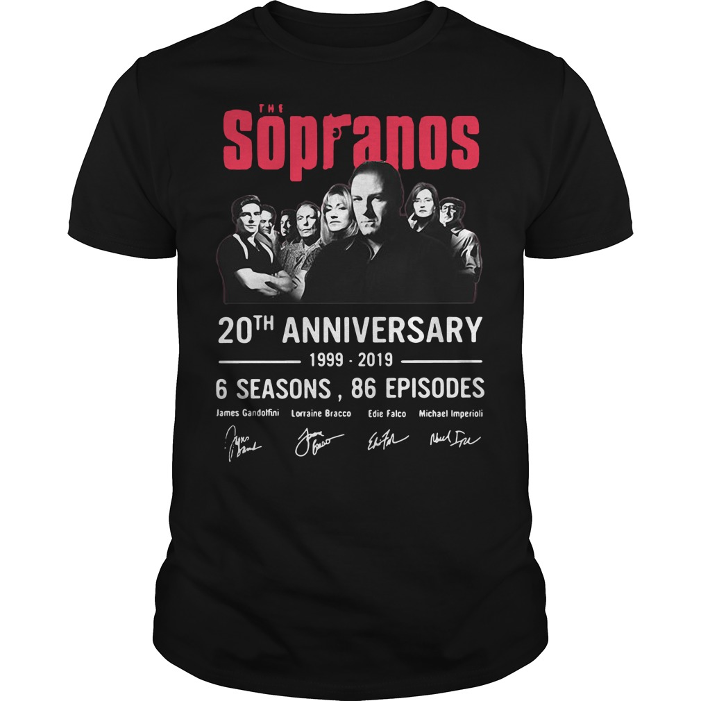 The Sopranos 20th anniversary 1999 2019 classic men