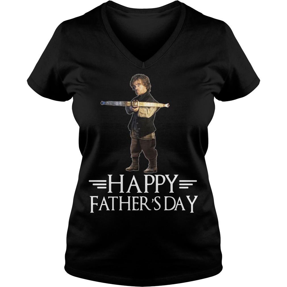 Tyrion Lannister happy fathers day V-neck